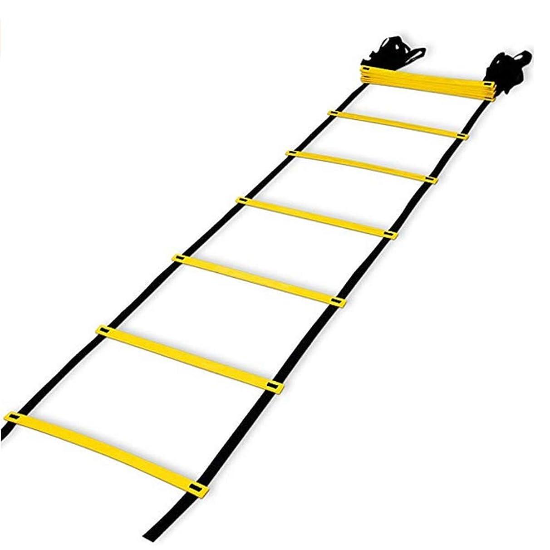 Maidian Agile Training Ladder 12 Adjustable ladders 19 feet Football Training Step Training Ladder