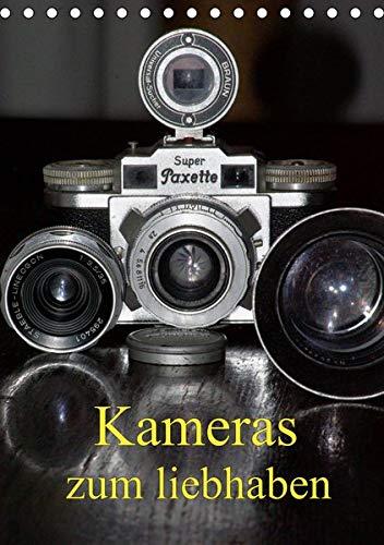 Kameras zum liebhaben (Tischkalender 2020 DIN A5 hoch): Klassische Fotoapparate der 20er bis 70er Jahre. (Monatskalender, 14 Seiten ) (CALVENDO Hobbys)