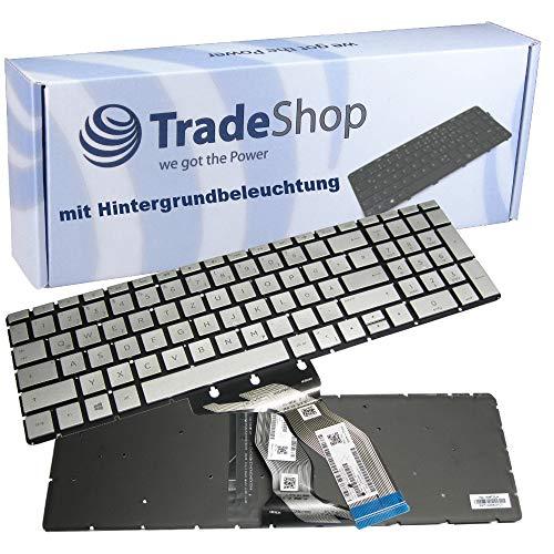 Original Laptop Notebook Tastatur Deutsch QWERTZ für HP Pavilion 17-AK 17-ak040ng 17G-BR 250 G6 255 G6 256 G6 Beleuchtung Backlit Backlight Folie