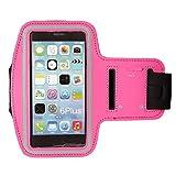 Sport Wrist Strap ECM Reflective Armband for iPod Nano -7th Generation (Pink)