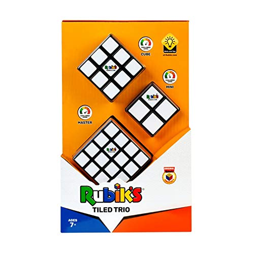 Rubik's Tiled Trio Set de Tres Cubos de Rubik 4x4 3x3 y 2x2