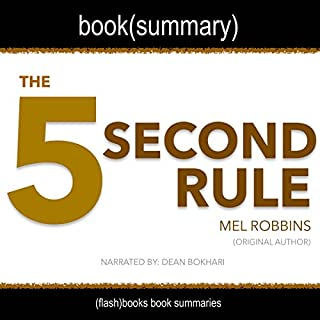 Summary of The 5 Second Rule by Mel Robbins audiobook cover art