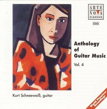 Anthology Of Guitar Music Vol. 4
