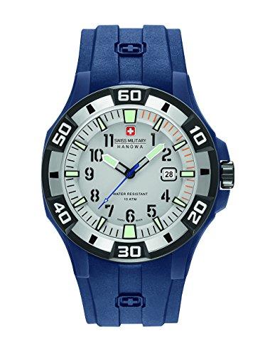 Swiss Military Reloj Analogico para Hombre de Cuarzo con Correa en Silicona 6-4292.23.009.03