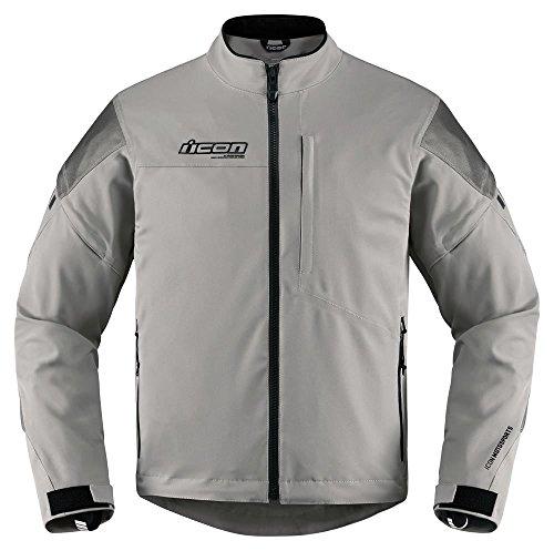 Icon asfalto gris chaqueta de Moto