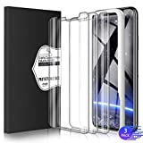 FunPi Screen protector for iPhone 11 and iPhone XR [3 Pack] [Easy Installation Frame] Premium Tempered Glass Screen Protector for Apple iPhone 6.1 inch [Fit with Most Cases] [9H Hardness]