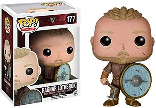 tian tian baby TV: Vikings - Pop TV Series Ragnar Lothbrok Figura in vinile da collezione