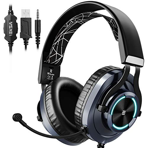 EKSA E3000 Gaming Headphones Wired with Stereo, Gaming...