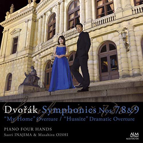 ドヴォルザーク:後期三大交響曲/序曲「わが故郷」/劇的序曲「フス教徒」(作曲者自身によるピアノ連弾版)