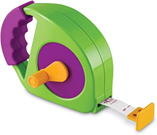 Learning Resources Simple Tape Measure, Measures 4 Feet, Construction Toy, Ages 3+