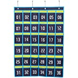 ibasenice Handytaschen Chart Organizer Hängetasche Wandtasche mit 36 ??Nummerierten Taschen 4 Haken