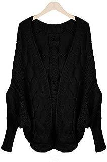Le Donne Sciolto Lavorato a Maglia a Maniche Lunghe Maglione Tops Cardigan Outwear cappotto giacca R