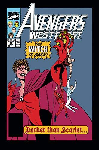 Avengers West Coast Epic Collection: Darker Than Scarlet