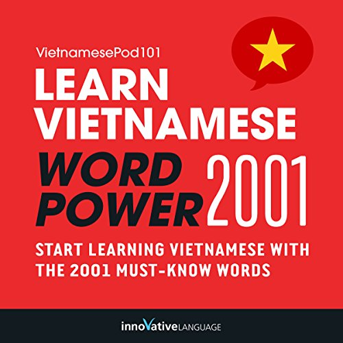 Learn Vietnamese - Word Power 2001 audiobook cover art