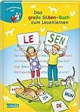 LESEMAUS zum Lesenlernen Sammelbände: Das große Silben-Buch zum Lesenlernen: Extra Lesetraining...