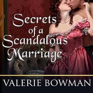 Secrets of a Scandalous Marriage audiobook cover art