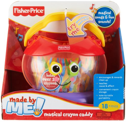 Fisher-Price Made by Me! Musical Crayon Caddy