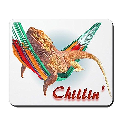 CafePress diseño de dragón Barbudo Chillin–antideslizante de goma ratón, ratón para videojuegos