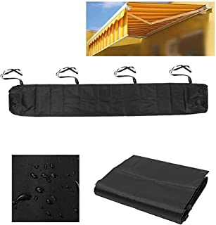 Patio Awning Cover, Awning Canopy Shelter Protective Outdoor Patio Canopy Dust Cover Sun Protection Dustproof Awning Stora...