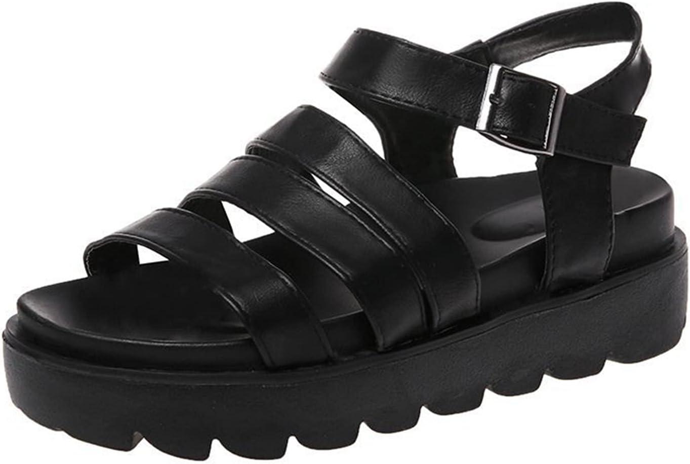 Flip Flop Sandals for Women Fluffy Slippers for Men Flip Flops Mens 12 Small Wedge Pillow for Sleeping Shoes Rack Espadrilles for Men Leather Beach Shoes for Girls Size 10 (Black ,7.5 )