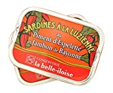 La Belle-Iloise Sardinen à la Luzienne (Tomate, Piment, Bayonner Schinken), 115 g