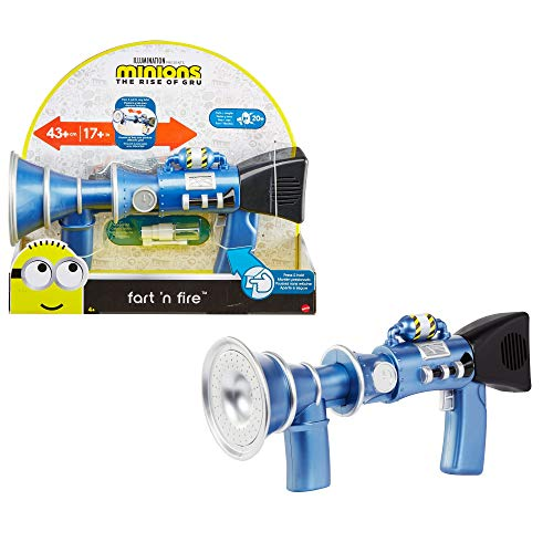 Product Image of the Minions Fart 'N Fire Super-Size Blaster with 20 Plus Fart Sounds and Realistic...