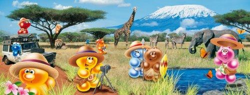 Ravensburger 80732–Gelini: A Safari 1000Puzzle + Llavero