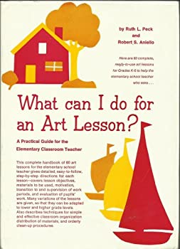 Hardcover What can I Do for an Art lesson? Book