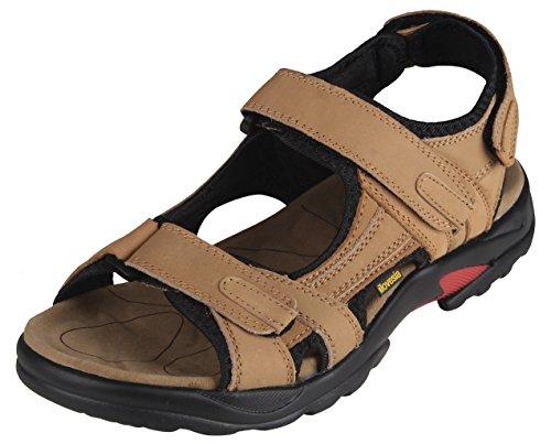 iLoveSIA para Hombre Piel Sandalias Zapatos de Athletic y al Aire Libre