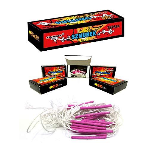 h2i Party Spaß Knaller Knatterblitze Sortiment - Ganzjahresfeuerwerk Kat F1 (Pulling Box)