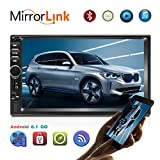 Android 8.1 Autoradio 2 Din Schermo Touch Screen HD 7 Pollici GPS...
