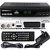 Echosat 2910 DVBT2 Receiver Full HD 1080P 4K für TV ( HEVC/H.265 HDMI SCART, USB 2.0 , DVBT-2 , DVB-T2 , DVB T2 , DVBT 2 ), Reciver , Resiver, Empfänger , Schwarz