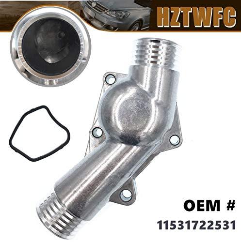 HZTWFC Cubierta de la carcasa del termostato de refrigerante del motor Junta OEM # 11531722531