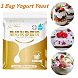 Antipasto di yogurt, Lievito di yogurt probiotico in bustine essiccate, Lievito di yogurt fatto in casa Conveniente agente di fermentazione probiotico sicuro Strumento per la preparazione di yogurt