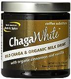 ChagaWhite, sustituto del café, 5,1 oz (145 g) - América del Norte de la hierba y de la especia Co