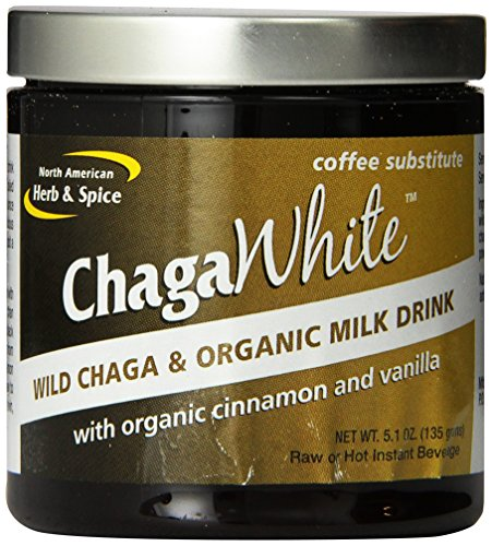 North American Herb and Spice Powder, Chaga White, 5.1 Ounce