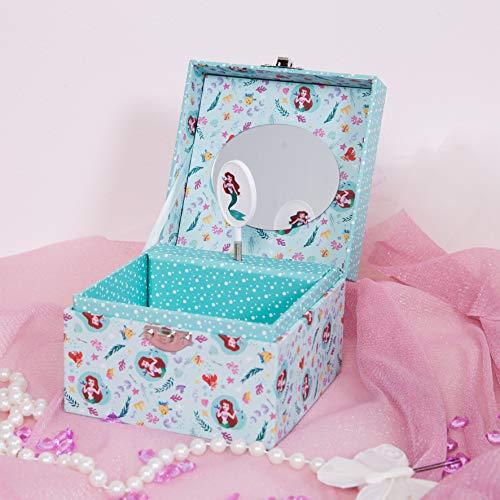 The Gift Experience Disney Princess Musical Jewellery Box - Ariel
