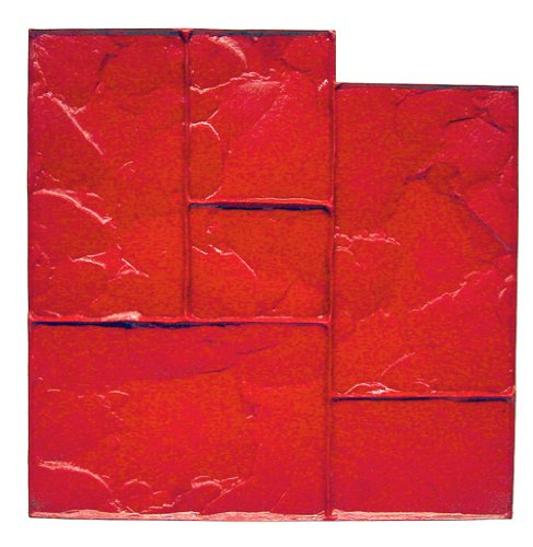 Bon Tool 12-875 Floppy Mat - Ashlar Red - 24' X 24'