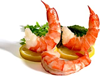 IQF Shrimp Peeled Cooked Tail On Large (500 G) | Sweet, delicate flavor and tender, succulent texture