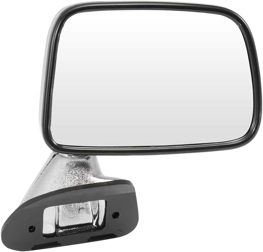 GDSMOTU Left Towing Mirrors Limited price 2021 spring and summer new Manual Housing Chrome Adjusted Non-h