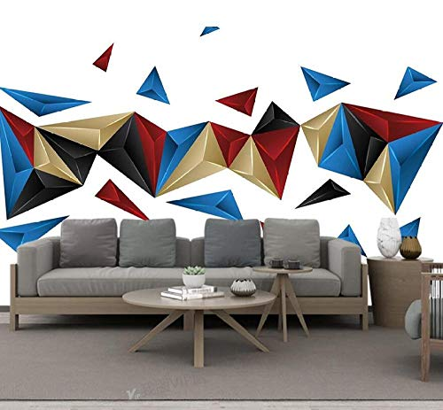 3D stereo moderno personalità minimalista astratto geometrico TV-430 * 300