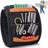 Magnetisches Armband Werkzeug, Handwerker Magnetarmband mit 15 Starken Magneten zum Halten von...