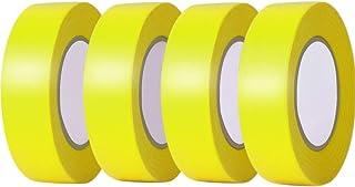 LEOBRO 塗装用マスキングテープ 4巻入 耐熱 18mm×20m グリーン 自動車 車両塗装養生テープ 綺麗に剥がせる DIY 仮止め用 モデル塗装用