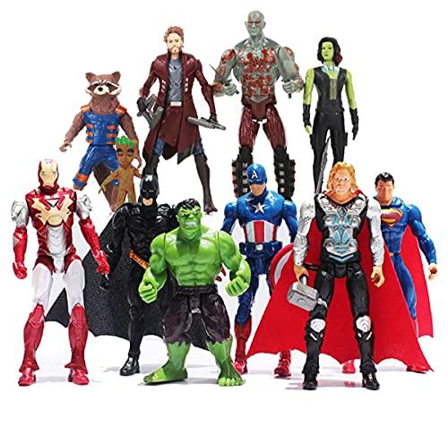 New 2021 11PCS Superhero Action ...