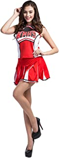 Women's Adult Glee Club Teen Cheerleader Musical Uniform Fancy Dress Costume