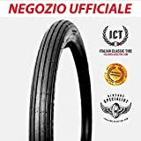 2.00-18 rigato pneumatici per moto d' epoca ORIGINALI Italian Classic Tire