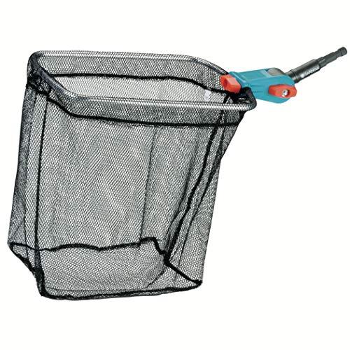 Gardena combisystem-Teichreiniger Vario 2: Teich-Kescher inkl. grob- und feinmaschigem Netz, Gartenzubehör zur einfachen Reinigung des Gartenteiches, passend zu allen combisystem-Stielen (3230-20)