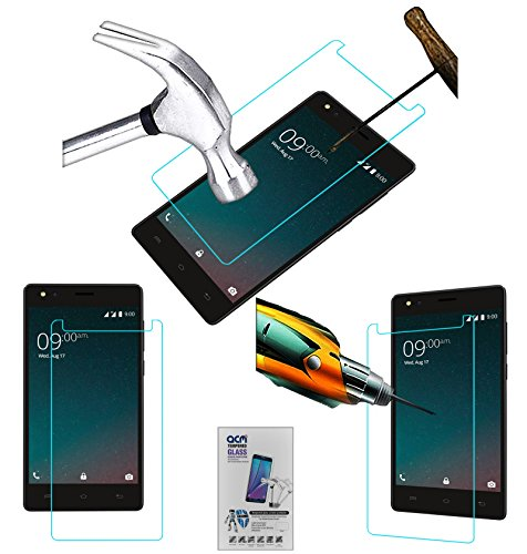 Acm Tempered Glass Screenguard Compatible with Xolo Era 2v Mobile Screen Guard Scratch Protector