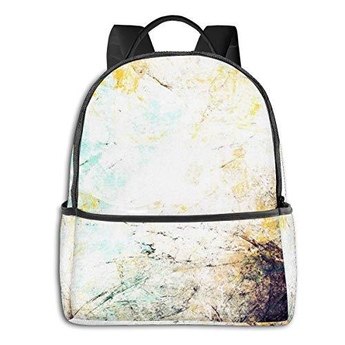 Rucksack Freizeit Damen Herren, Effektfarbe futuristisch Campus Kinderrucksack, Daypack Schulrucksack Sportrucksack Tablet Tasche 15,6 Zoll