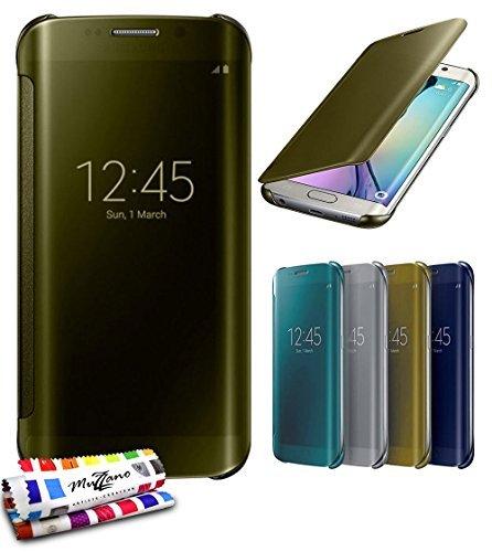 MUZZANO - Cover originale'Star Touch' per Samsung Galaxy S6 Edge, colore: Oro
